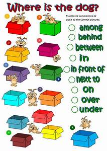 Prepositions Of Place 1 1