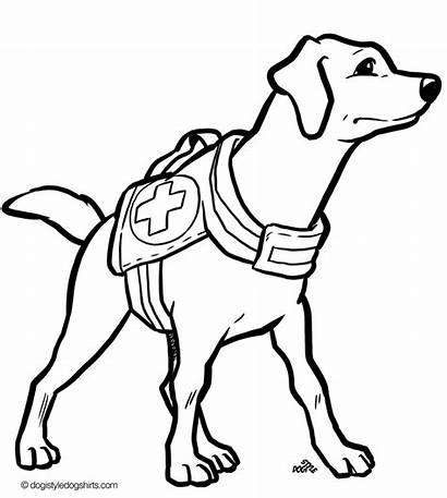 Coloring Dog Pages Russell Jack Terrier Drawing