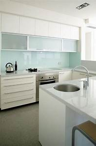 picture of trendy minimalist solid glass kitchen With kitchen colors with white cabinets with star wars panel wall art