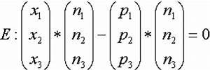 Schnittwinkel Zweier Geraden Berechnen : lagebeziehungen zwischen ebenen und geraden berechnen eines normalenvektors aus einer ~ Themetempest.com Abrechnung