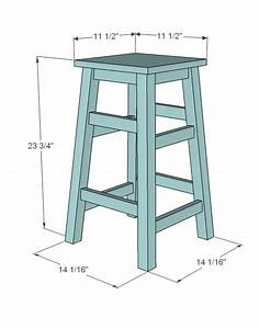 Build Wooden Bar Stool Plans Free Plans Download basic