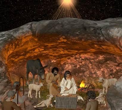 Nativity Scene Cave Community Animated Skylab Chat