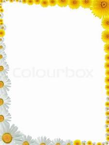 Rahmen Vorlagen Schnörkel : sch ne rahmen aus vielen gelben l wenzahn und ox eye daisy blumen gemacht stockfoto colourbox ~ Eleganceandgraceweddings.com Haus und Dekorationen