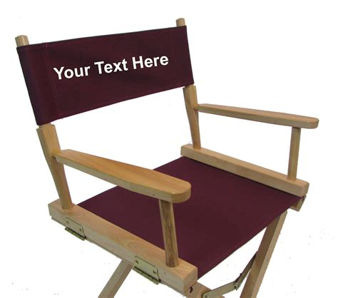 personalized directors chair canvas replacement for director chair director chair
