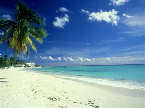Beach Scene, Barbados Photographic Print By Mike England