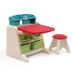 step 2 flip doodle easel desk with stool toys games