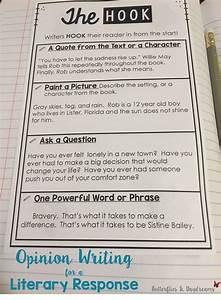 Literary Response Opinion Essay Unit Grades 3