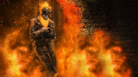 3d Wallpaper Ghost by Ghost Rider 3d Wallpapers Mobile Wallpaper Cave