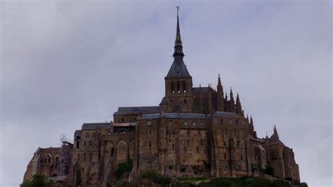 full hd wallpaper mont saint michel france gothic castle