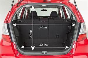 Image Result For 2013 Honda Fit Cargo Dimensions Diagram
