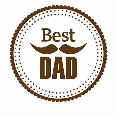 Dad Transparent Round Badge Papa Clipart Worlds