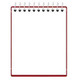 Blank Notepad Template