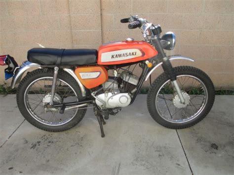 Vintage 1971 Kawasaki G3 Trail 100, Enduro, Ahrma. Nice Bike