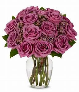 Purple Rose Bouquet at From You Flowers
