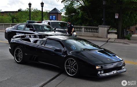 lamborghini diablo vt roadster  june  autogespot