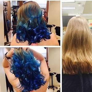 Blaue Haare Ombre : cool 20 fairy like blau ombre frisuren hair pinterest haarfarbe blau directions haarfarbe ~ Frokenaadalensverden.com Haus und Dekorationen