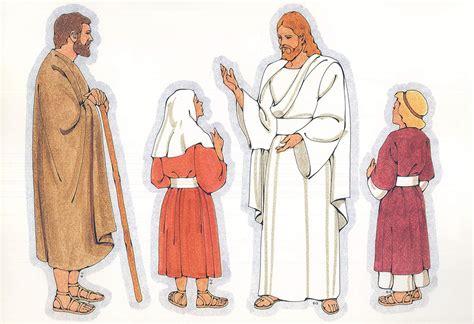 primary visual aids cutouts   biblical man  staff