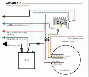 Vespatronic Wiring Diagram