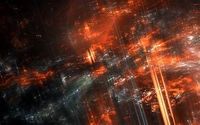 Abstract Fire Dark Wallpapers Fractal Background Digital
