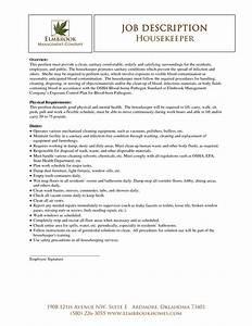 housekeeper resume sample best template collection With sample housekeeper resume employment