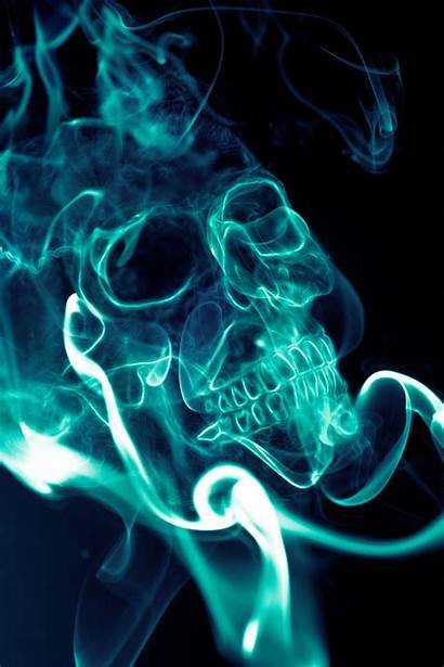 Smoke Skull Skulls Water Smoking Deviantart Wallpapers