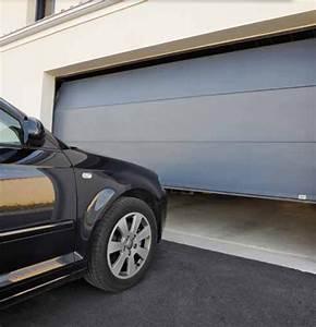 porte de garage sectionnelle ou enroulable With porte de garage sectionnelle ou enroulable