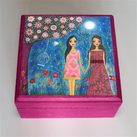 girlfriend gift  friends gift girl jewelry box