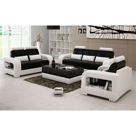 salons canap駸 salon set canap 233 s personnalisable en cuir design salerno