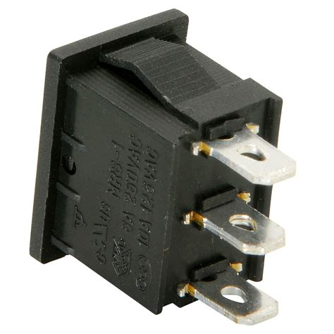 Spdt Miniature Momentary Rocker Switch Center Off Ebay