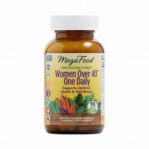 Women Over 40 Multivitamin By Megafood