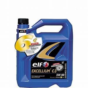 Diesel Excellium : huile moteur elf excellium c3 5w40 5l feu vert ~ Gottalentnigeria.com Avis de Voitures