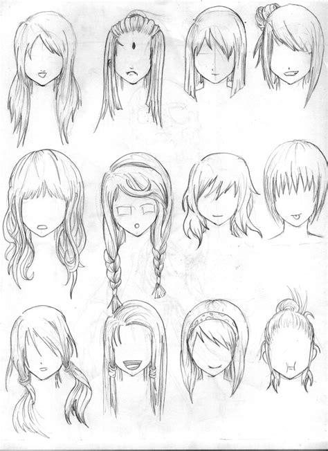 hair reference  tenzen  deviantart