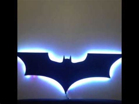 Led Batman Logo Youtube