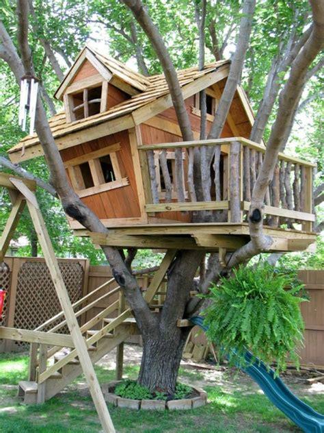 gartenhäuser für kinder bauhaus selber bauen gem 252 tliches aussehen baumhaus bauen schaffen sie einen ort zum spielen