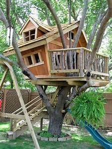 baumhaus bauen schaffen sie einen ort zum spielen fur With französischer balkon mit spiele für den garten erwachsene