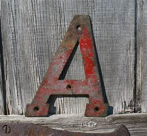 96 best images about antique letters on pinterest With reclaimed metal letters