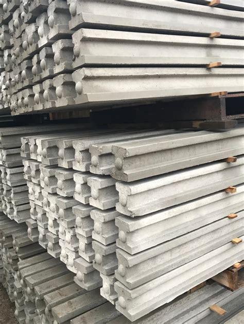 Concrete Fence Posts - Alan Sproston Ltd