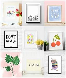 Free printable pieces of wall art curbly