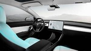 Want A Baby Blue Tesla Model 3 Interior? Solution - Blue Jeans: Video