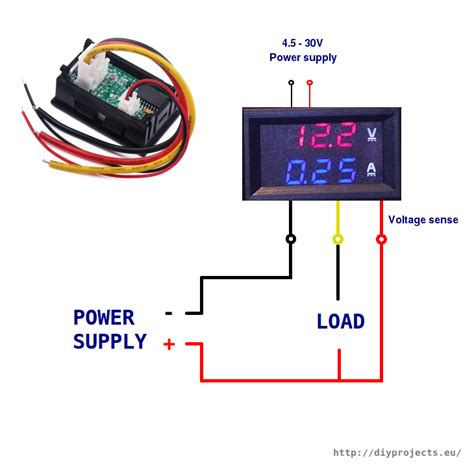 Circuit Diagram Ammeter Note The Meter Indication