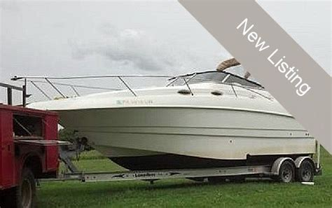 Performance Boats Sharpsburg by 1999 Used Larson 254 Cabrio Express Cruiser Boat For Sale