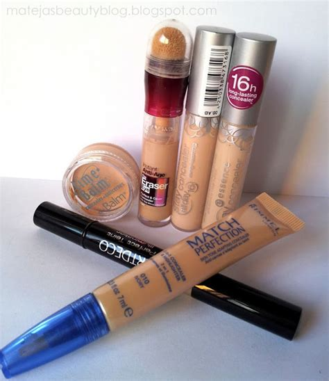 Mostly Drugstore Concealers Favourites And Really Good Ones Matejas Beauty Blog