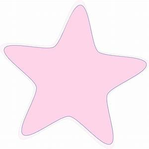 Baby Pink Star Clip Art at Clker.com - vector clip art ...