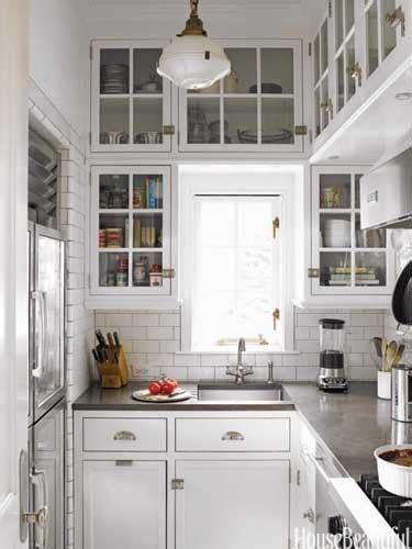 cocina pequena blanca casa web