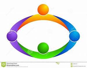 Teamwork Logo Stock Images - Image: 24083724