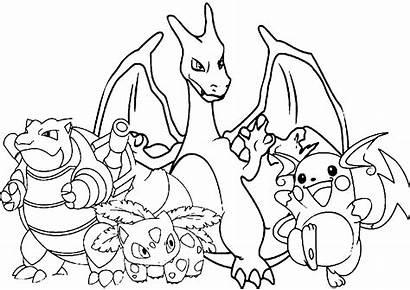 Pokemon Coloring Printable Ash Pdf Characters Pokeball
