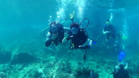scuba diving  st thomas kids scuba divehdv youtube