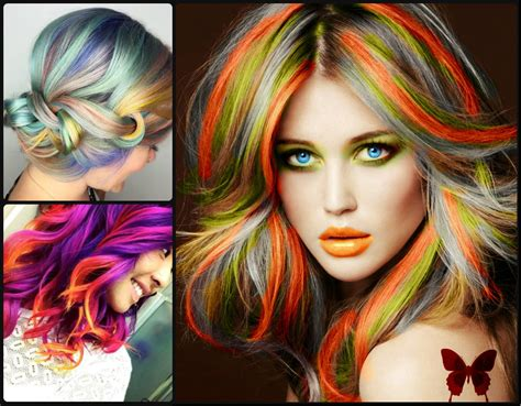 Rainbow Hair Colors For Holidays 2016 Hairstyles 2017