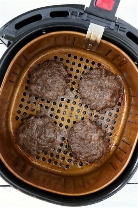 fryer air burgers cook easy burger should temperature hamburgers cooked