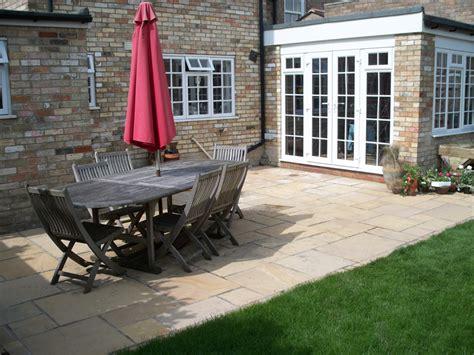 back garden patio baldock rw landscapes innovative